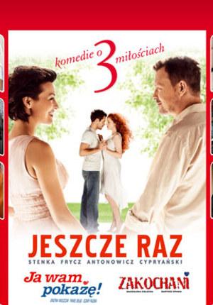 Zestaw 3 DVD - Jeszcze raz, Ja wam pokażę, Zakochani