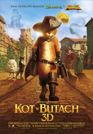 Kot W Butach 3d Film W Interiapl