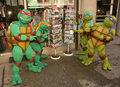 Żółwie Ninja podbijają USA