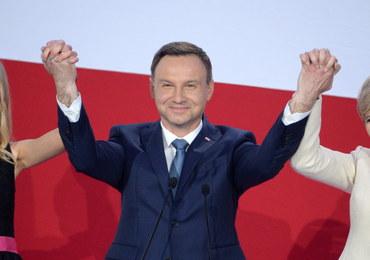 Duda pokonał Komorowskiego w II turze wyborów prezydenckich
