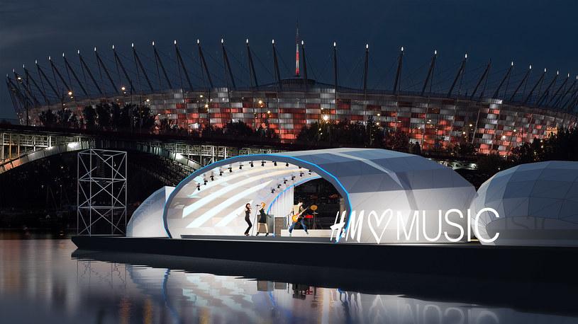 5 czerwca 2015 roku na warszawskiej Wiśle odbędzie się pierwszy koncert z cyklu H&M Loves Music. Wydawałoby się, że jest to kolejna wakacyjna impreza, nie wyróżniająca się niczym szczególnym. A jednak koncerty będą wyróżniać się sceną, czyli pływającą barką.