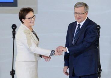 Bronisław Komorowski chce pomóc PO w wyborach parlamentarnych
