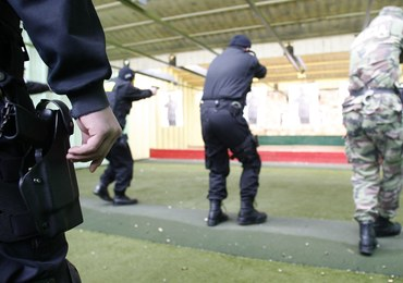 Legionowo: Wypadek na policyjnej strzelnicy