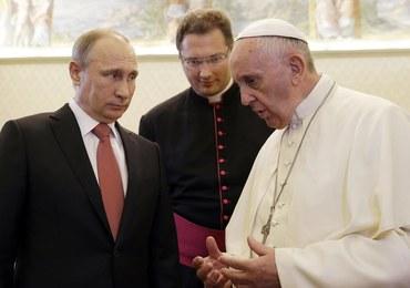 Putin u papieża: 50 minut prywatnej rozmowy