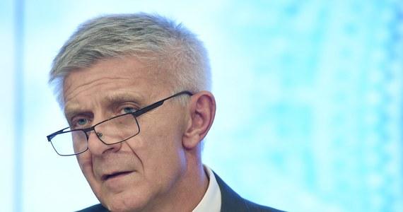 Prezes Narodowego Banku Polskiego Marek Belka nie ma zamiaru podawać się do dymisji. To oficjalne stanowisko banku centralnego.