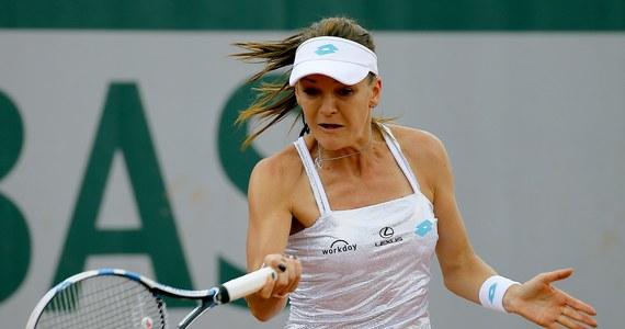 Agnieszka Radwańska nie zdołała awansować do finału turnieju WTA na trawiastych kortach w Nottingham. Przegrała z Rumunką Monicą Niculescu 7:5, 4:6, 0:6.
