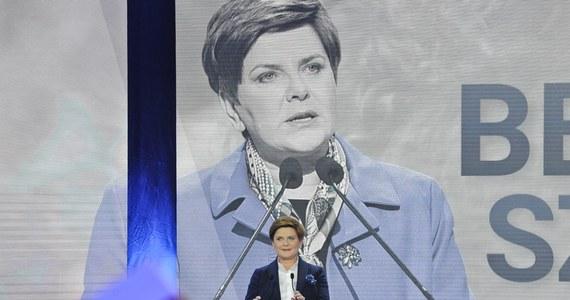 """Z wewnętrznych badań PiS wynika, że jeśli kandydatką PiS na premiera byłaby Beata Szydło, to mogłaby znacznie poszerzyć elektorat – pisze dziś """"Rzeczpospolita""""."""