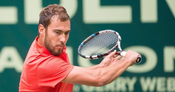 Jerzy Janowicz odpadł w ćwierćfinale turnieju ATP Tour na kortach trawiastych w niemieckim Halle. Łodzianin przegrał z rozstawionym z numerem drugim Japończykiem Kei Nishikorim 4:6, 7:5, 3:6.
