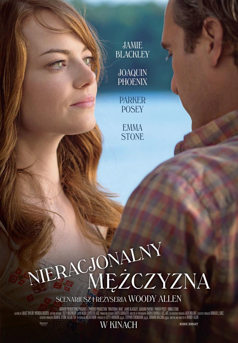 """""""Nieracjonalny mężczyzna"""" to tytuł, pod którym na ekrany kin wejdzie najnowszy obraz Woody'ego Allena."""