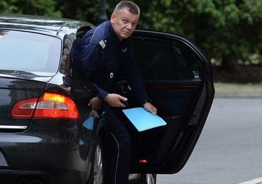 Wiceszef policji złamał poufną instrukcję Komendanta Głównego Policji