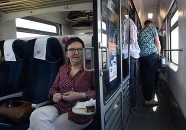 """Ewa Kopacz jedzie pociągiem na Wybrzeże. """"Tak to sobie wymyśliliśmy"""""""