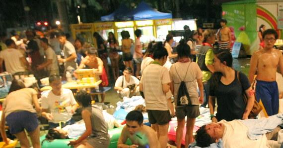 509 osób zostało rannych, w tym blisko190 ciężko, w wyniku pożaru, który wybuchł w sobotę wieczorem w parku rozrywki w Nowym Tajpej na Tajwanie. Ogień rozprzestrzenił się ze sceny podczas pokazu, w którym uczestniczyło ponad tysiąc widzów.