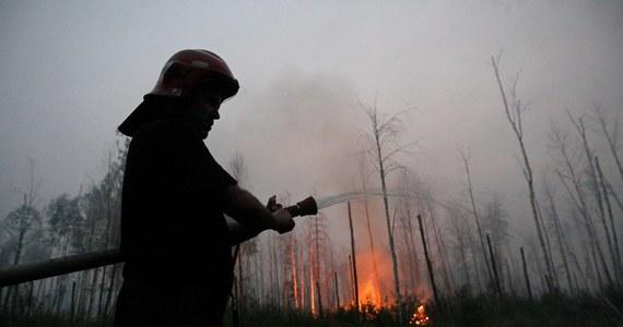 Pożar w zamkniętej strefie wokół elektrowni atomowej w Czarnobylu. Ogień objął 130 hektarów pól. Władze zapewniają, że nie ma zagrożenia dla elektrowni.