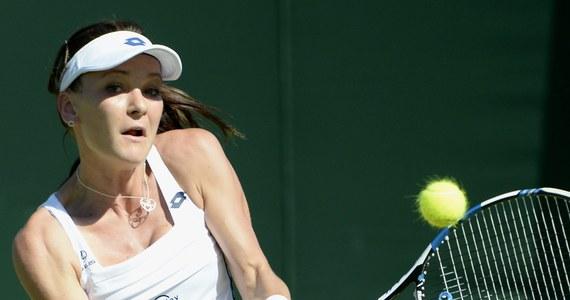 Rozstawiona z numerem 13. Agnieszka Radwańska pokonała Czeszkę Lucie Hradecką 6:3, 6:2 w pierwszej rundzie wielkoszlemowego turnieju na trawiastych kortach Wimbledonu.