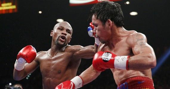 """Amerykański bokser Floyd Mayweather Jr. zajął pierwsze miejsce na opracowanej przez """"Forbesa"""" liście najbogatszych celebrytów, która uwzględnia dochody z ostatniego roku. Słynny pięściarz zarobił w tym czasie 300 mln dolarów, z czego około 275 mln za zwycięską """"walkę stulecia"""" z Filipińczykiem Mannym Pacquiao."""