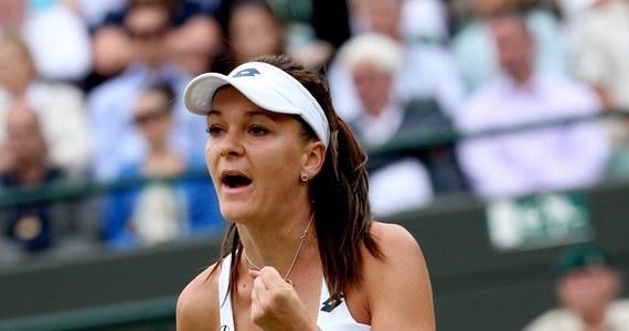 """Agnieszka Radwańska przyznała, że porażce w 1. rundzie French Open i kilkumiesięcznym kryzysie nie liczyła na sukces w Wimbledonie. """"Nie spodziewałam się, że dotrę do półfinału"""" - podkreśliła polska tenisistka. """"To Wimbledon. Każdy walczy tu na całego. Byłam blisko zwycięstwa, nawet dwa razy, ale nigdy mi się nie udało. Może w tym roku... """" - dodała krakowianka."""