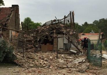 Wybuch gazu w Łodzi. Jedna osoba została ranna