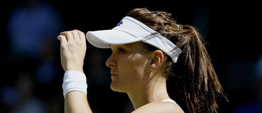 Rozstawiona z numerem 13 Agnieszka Radwańska przegrała z Anną Karoliną Schmiedlovą w 1 rundzie turnieju WTA Premier w Cincinnati. Polka uległa Słowaczce po trzech setach.