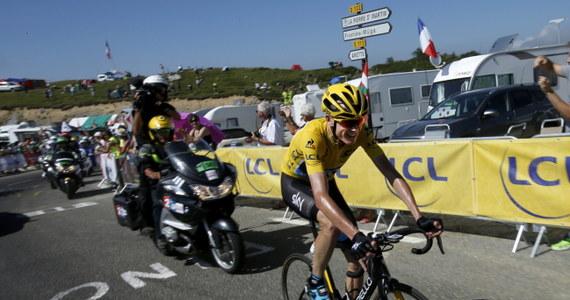 """Brytyjczyk Chris Froome wygrał w La Pierre-Saint-Martin w Pirenejach dziesiąty etap wyścigu kolarskiego Tour de France. Dzięki temu umocnił się na prowadzeniu w klasyfikacji generalnej. Dodatkowo zdobył koszulkę najlepszego """"górala""""."""