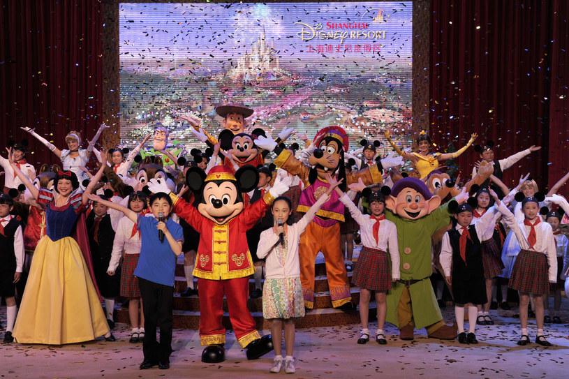 Myszka Miki, Piotruś Pan i Han Solo powitają gości nowego Disneylandu, który zostanie otwarty wiosną przyszłego roku w Chinach.