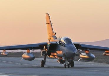 Incydent w bazie lotniczej. Z myśliwca odpadły pociski rakietowe