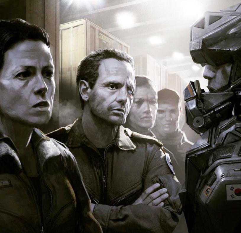 """Neill Blomkamp, twórca filmów """"Dystrykt 9"""", """"Elysium"""" i """"Chappie"""", zamieścił na Instagramie nową grafikę, prezentującą bohaterów przygotowywanego przez siebie filmu """"Alien 5""""."""