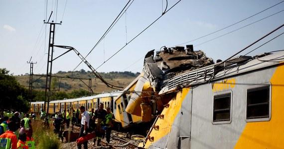 Co najmniej 20 osób zostało rannych w zderzeniu pociągów w Johannesburgu. 90 z nich trafiło do szpitali.