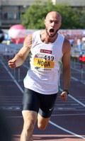 Artur Noga trenuje z wciąż aktywnym sportowcem