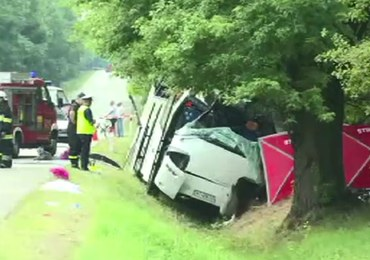 Tragiczny wypadek ukraińskiego autokaru