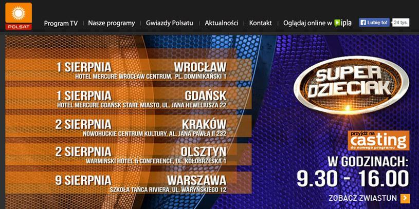 """Każde dziecko zasługuje na szanse, aby rozwijać swój talent - to przesłanie nowego talent show """"SuperDzieciak"""". Program pojawi się na antenie telewizji Polsat w październiku lub wiosną przyszłego roku."""