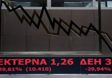 Grecja: W pierwszym dniu po ponownym otwarciu giełdy spadek o 16,2 proc.