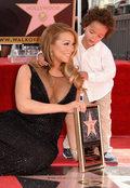 Mariah Carey ze swoją gwiazdą. Show i tak skradły dzieci