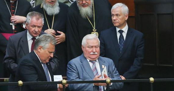 W zaprzysiężeniu Andrzeja Dudy wzięli udział byli prezydenci - Lech Wałęsa, Aleksander Kwaśniewski i Bronisław Komorowski. Przeczytajcie, jak komentowali jego orędzie i co mówili o nadziejach związanych z jego kadencją.