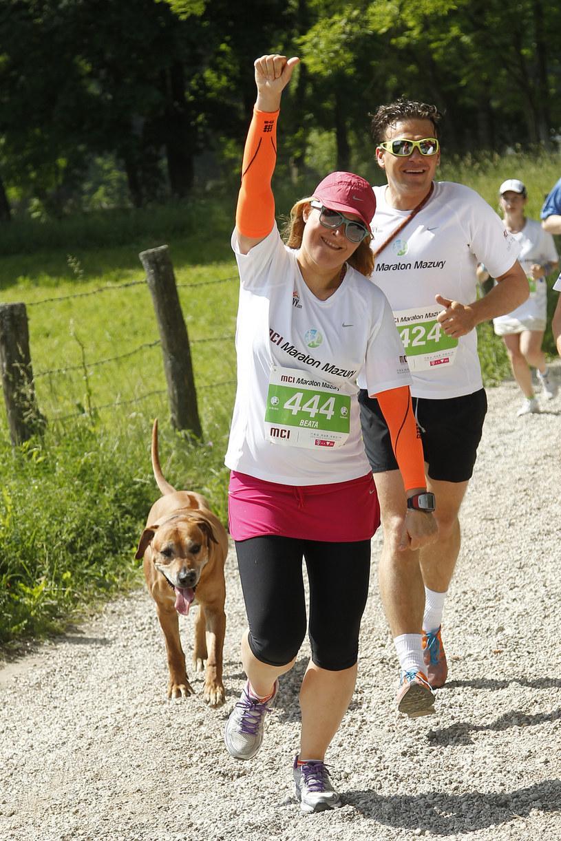 Po kilkunastu maratonach przyszedł czas na pierwszy triathlon. - W tym roku zostałam ambasadorką Herbalife Ironman Gdynia - słowo się rzekło, więc trzeba wystartować - mówi Beata Sadowska. - Boję się jak cholera - dodaje.