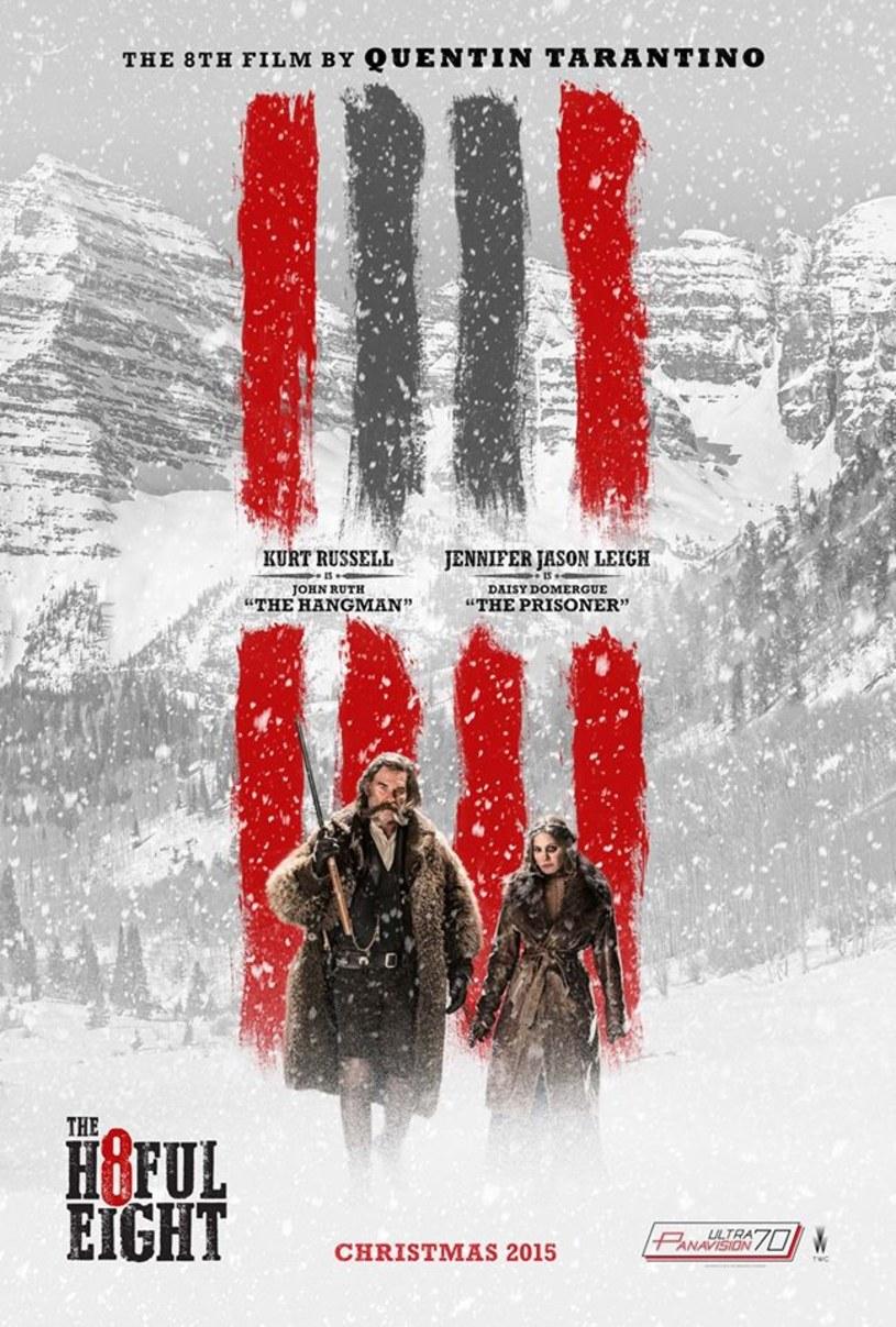 """Pojawiła się teaserowa zapowiedź nowego filmu Quentina Tarantino  - westernu """"The Hateful Eight""""."""