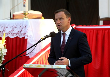 Prezydent Andrzej Duda: Wierzę, że jesteśmy w stanie odbudować Polskę silną