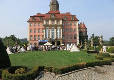 Namioty słowiańskich władców na Zamku Książ