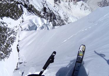 Andrzej Bargiel jako pierwszy na świecie zjechał na nartach z Broad Peaku