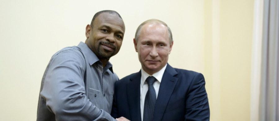 Znany amerykański bokser Roy Jones Jr. chciałby zostać obywatelem Rosji. Taką deklarację złożył po spotkaniu na Krymie z prezydentem Rosji Władimirem Putinem.