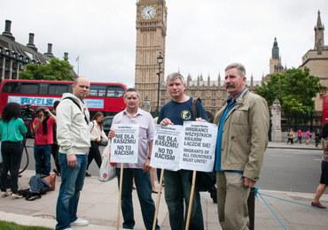 Fiasko polskiego strajku przed brytyjskim parlamentem