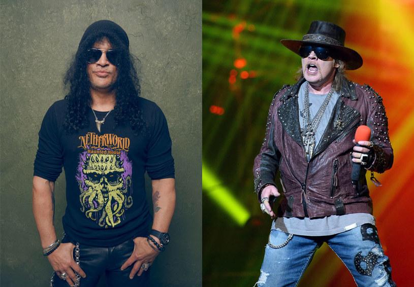 Śmiertelni wrogowie - Slash i Axl Rose - pogodzili się. Czy to oznacza możliwy powrót Guns N' Roses w najbardziej znanym składzie?