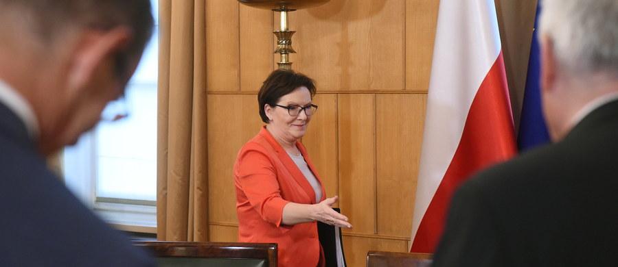 Premier Ewa Kopacz zaapelowała do prezydenta, by powołał Radę Bezpieczeństwa Narodowego. Jak wskazała, wymaga tego m.in. obecna sytuacja na Ukrainie.
