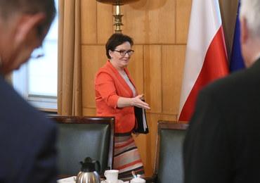 Ewa Kopacz apeluje, by prezydent powołał RBN