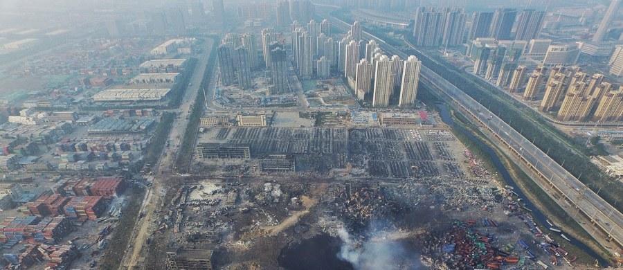 12 osób trafiło do aresztu w związku z wybuchami w chińskim mieście Tiencin. Wśród podejrzanych są członkowie kierownictwa firmy, w której doszło do wybuchów. W eksplozjach zginęło prawie 140 osób.