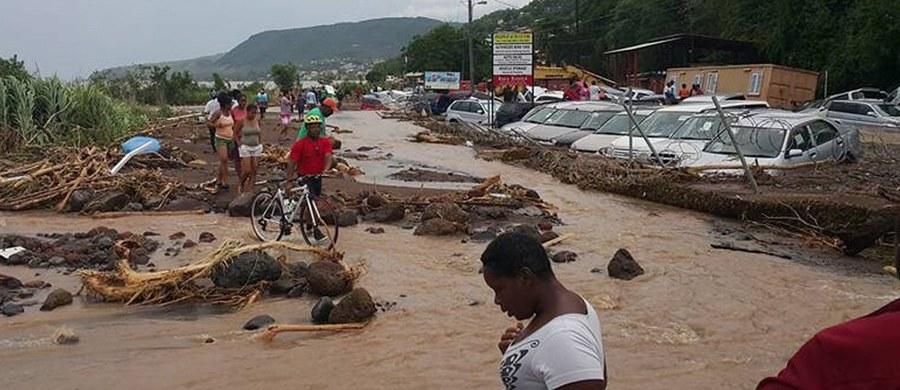 Co najmniej 20 osób zginęło, a wyspa cofnęła się w rozwoju o 20 lat po zniszczeniach wyrządzonych przez tropikalny sztorm Erika - oświadczył premier karaibskiej wyspy Dominika Roosevelt Skerrit. Los kilkudziesięciu osób pozostaje nieznany.