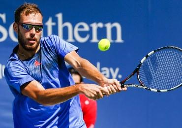 US Open: Jerzy Janowicz odpadł w pierwszej rundzie