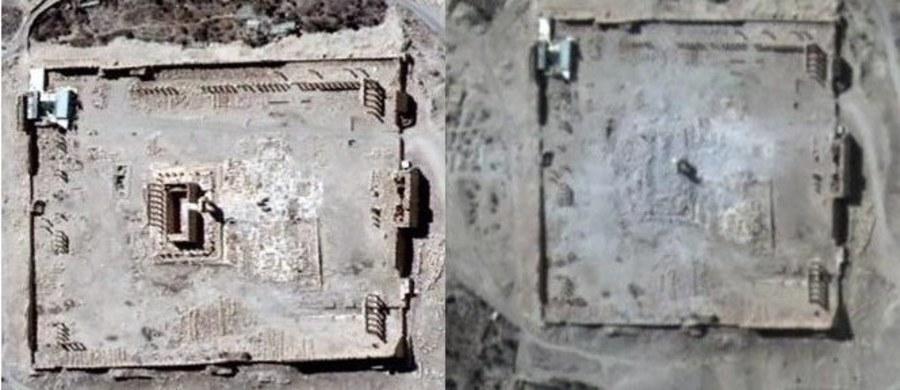 Zdjęcia satelitarne potwierdzają informacje o zniszczeniu pochodzącej z czasów rzymskich świątyni Bela, jednego z najważniejszych obiektów wśród pozostałości starożytnego miasta Palmyra. O sprawie wczoraj poinformowało Syryjskie Obserwatorium Praw Człowieka. Na opublikowanych w sieci ujęciach widać, jak ogromna jest skala zniszczeń. Starożytna budowla została zrównana z ziemią