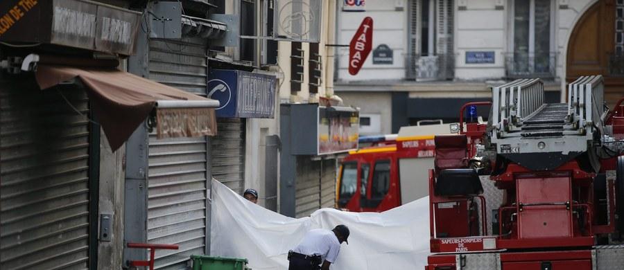 Pożar w bloku na północy Paryża. Zginęło osiem osób, w tym dwoje dzieci. Dwie spośród ofiar zginęły wyskakując z okna. Czworo rannych trafiło do szpitala - poinformowała paryska policja.