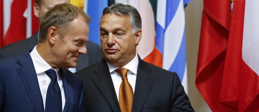 Proponowane kwoty podziału uchodźców między kraje UE pozwalają im jedynie łudzić się, że Unia przyjmie ich wszystkich - ocenił w Brukseli premier Węgier Viktor Orban. Według niego, jedynym rozwiązaniem kryzysu migracyjnego jest ochrona zewnętrznych granic Unii.