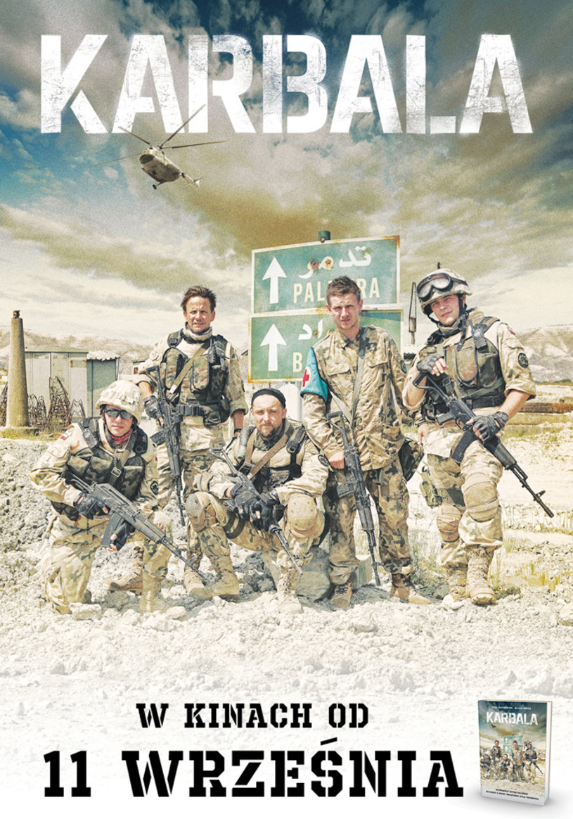 """W 14. rocznicę zamachów terrorystycznych w Nowym Jorku w kinach pojawi się film """"Karbala"""", będący opowieścią o największej bitwie polskich żołnierzy od czasów II wojny światowej. Zdaniem gen. broni Edwarda Gruszki, byłego dowódcy Wielonarodowej Brygadowej Grupy Bojowej, której żołnierze brali udział w bitwie, obraz ten jest okazją do dyskusji na temat udziału polskich żołnierzy w misji w Iraku."""